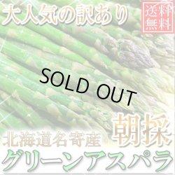 画像1: 5月下旬発送!送料無料/訳あり/北海道名寄産グリーンアスパラ 1kg S〜Lサイズ